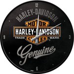 Harley Davidson Wall Clock Genuine NA51082