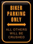 Biker Parking Only NA20381