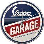 Vespa Wall Clock Garage NA51090