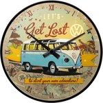 Volkswagen Wall Clock Let,s Get Lost NA51058