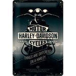 Harley Davidson Things Are Diff 20x30 3D NA22256