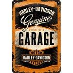 Harley Davidson Garage 20x30 3D NA22238