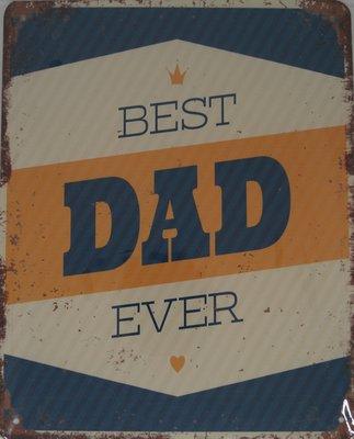 Best DAD Ever 25x20