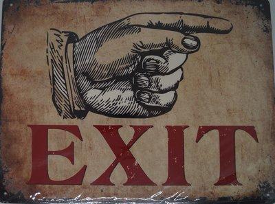 EXIT 33x25