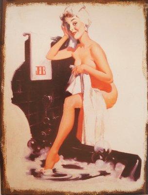 Bathing woman 33x25