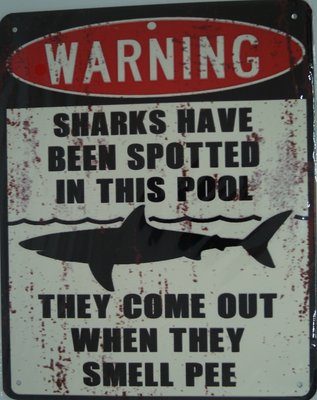 Waning Sharks have been spotted 20x25