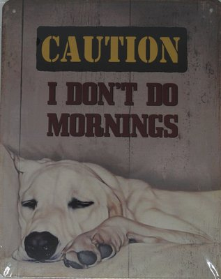 Caution I dont do mornings 20x25