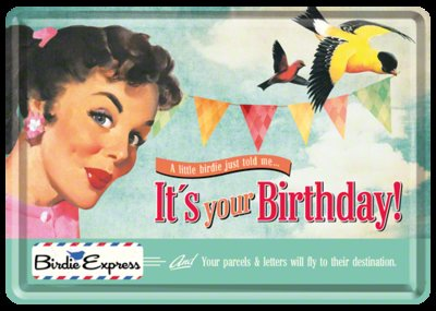 Postcard It's your Birthday