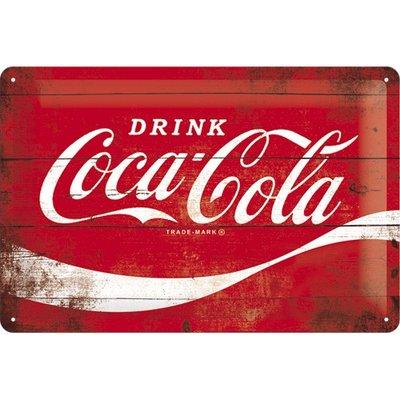 Coca Cola Wave 20x30 cm
