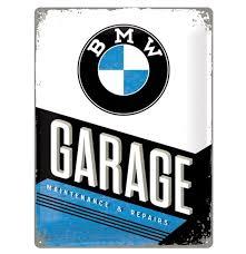 BMW Garage 30x40cm
