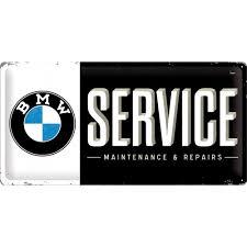 BMW Service 50x28cm