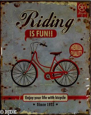 Riding is fun!!
