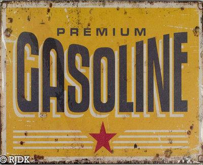 Premium Gasoline 25x20