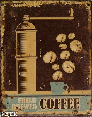 Fresh Brewed  COFFIE