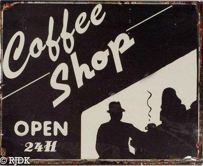Coffee Shop, Open 24H