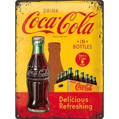 Coca Cola 1930 Delicious Refreshing 30x40 3D