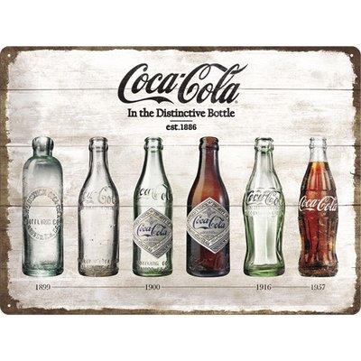 Coca Cola Timeline 1886 30x40 3D