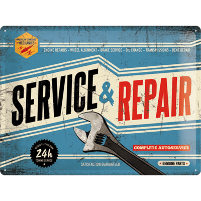 Service and Repair  3D