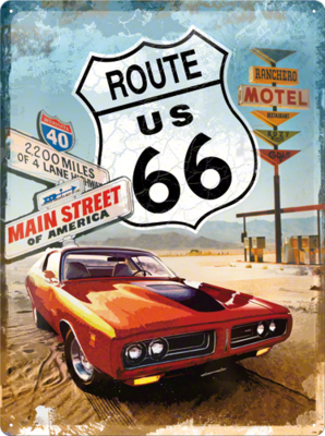 Route 66 Mainstreet 30x40 3D