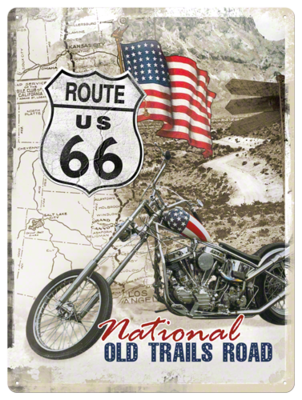 Route 66 Old Trails Road 30x40 3D
