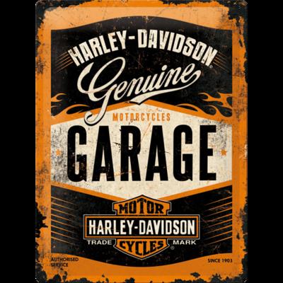 Harley Davidson Garage 30x40 3D