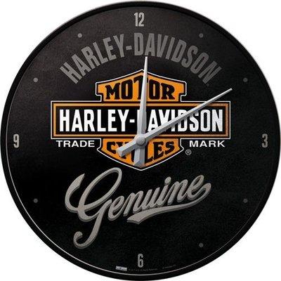 Wandklok Harley Davidson Genuine 3D
