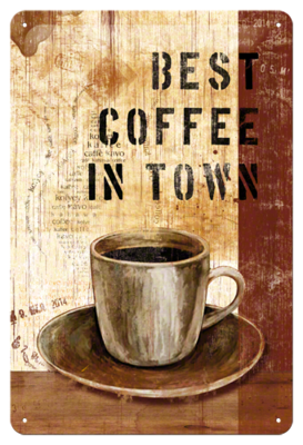 Best coffee in Town 30x40 3D