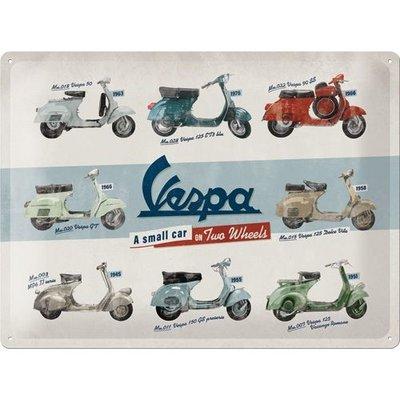 Vespa Model Chart 30x40 3D
