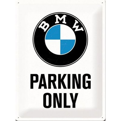 BMW Parking Only 40x30 3D