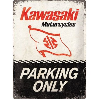 Kawasaki Parking Only 3D