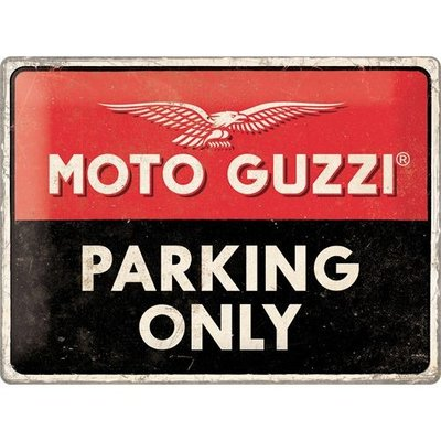 Moto Guzzi Parking Only 3D
