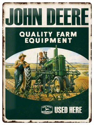 John Deere Farm Equipment 3D