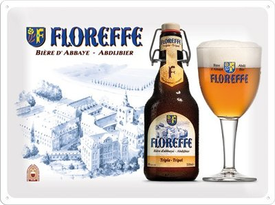 Floreffe Abdijbier 30x40 3D