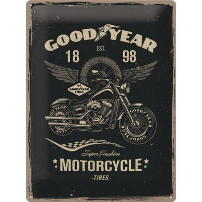Goodyear Motorcycle 30x40 3D