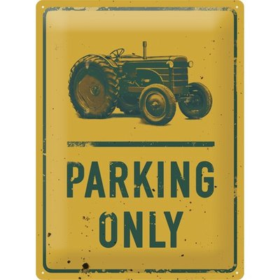 Tractor Parking Only 3D