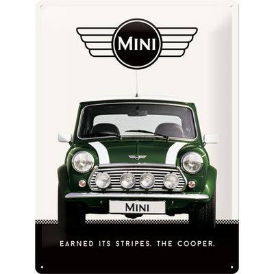 Mini Cooper Green 30x40 3D