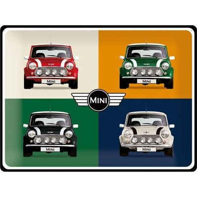 Mini Cooper Pop Art 30x40 3D