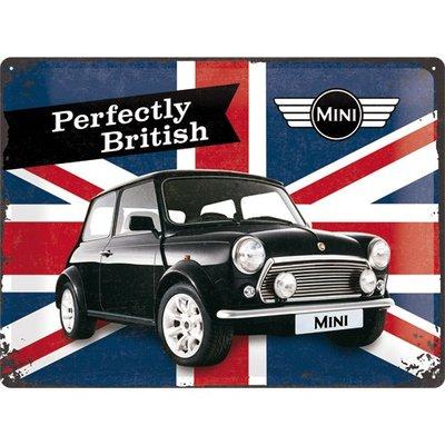 Mini Cooper Union Jack 30x40 3D