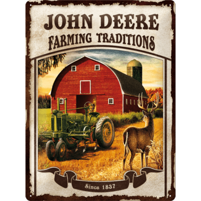 John Deere Farming Traditions 30x40 3D