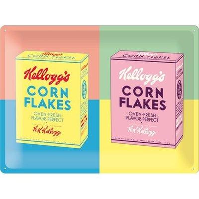 Kellogg's Cornflakes Pop Art 30x40 3D