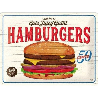 Hamburgers 30x40 3D