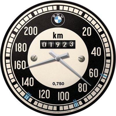 Wandklok BMW Tachometer 3D