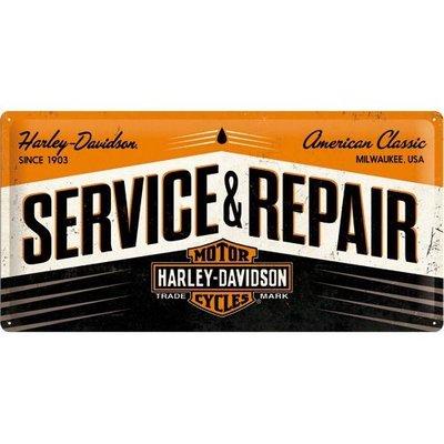 Harley Davidson Service 25x50 3D