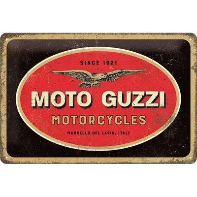 Moto Guzzi Logo 20x30 3D