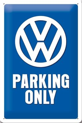 Volkswagen Parking Only 20x30  3D