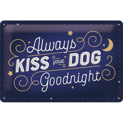 Kiss Your Dog 20x30 3D