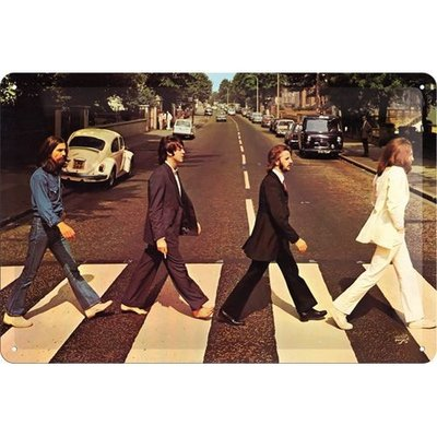 Beatles Road 20x30 3D