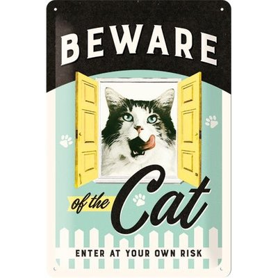 Beware of the Cat 20x30 3D
