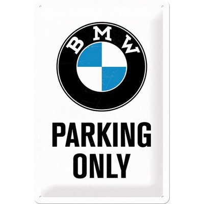 BMW Parking Only 20x30 3D