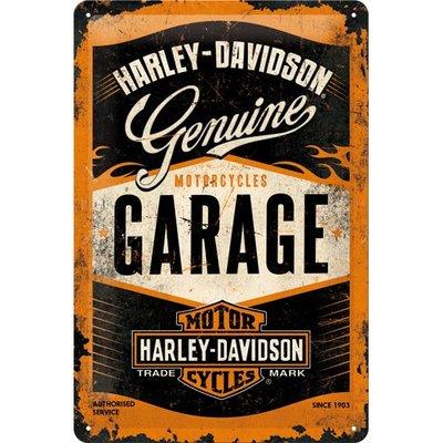 Harley Davidson Garage 20x30 3D